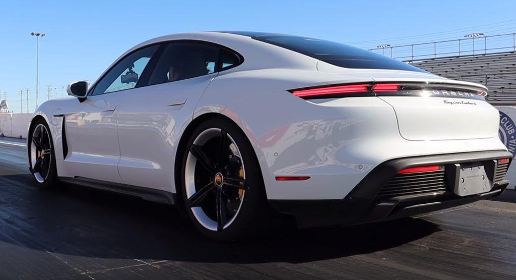 Porsche Taycan Turbo S Hits 60 Mph In 2 4 Seconds Quarter Mile In