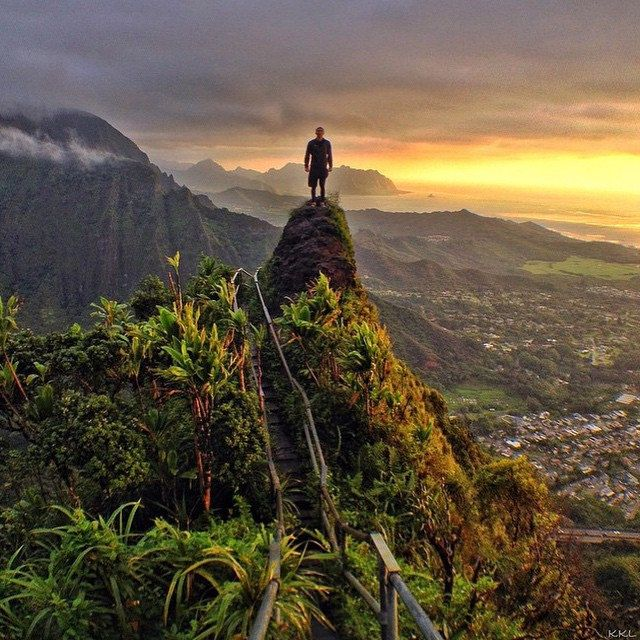 Never measure the height of a mountain until you have reached the TOP. Then you'll see how low it was! #hawaii #yourtravellist