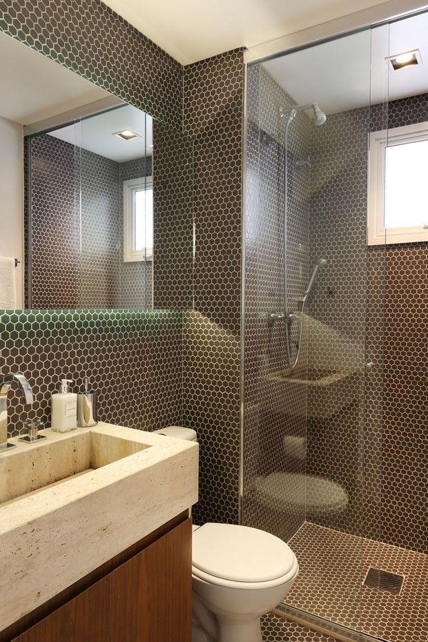 Ideias Banheiros Pequenos : Banheiros pequenos ideias inteligentes e charmosas