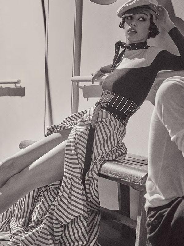 Damaris Goddrie - Giampaolo Sgura - Vogue Germany May 2016