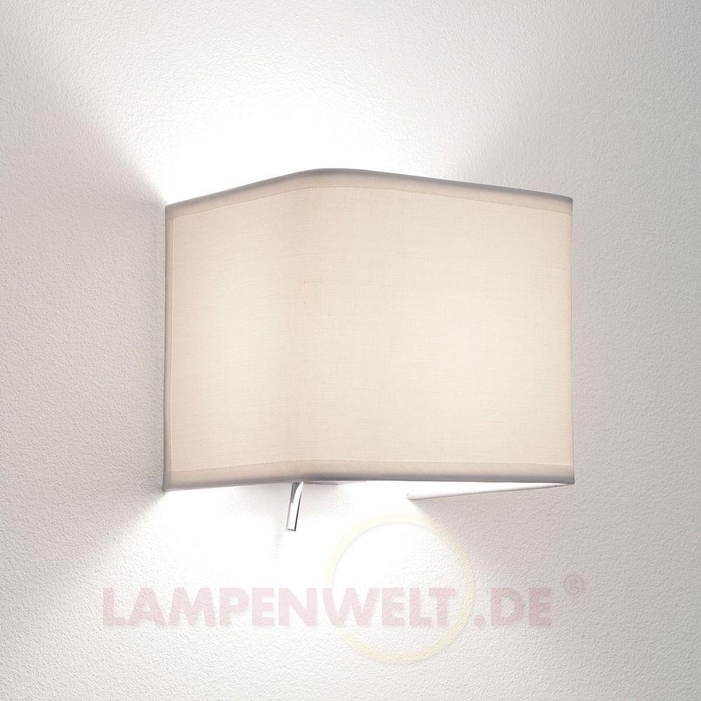 Wandleuchte ASHINO Wandlampe mit Schalter Wohnzimmerleuchte ...