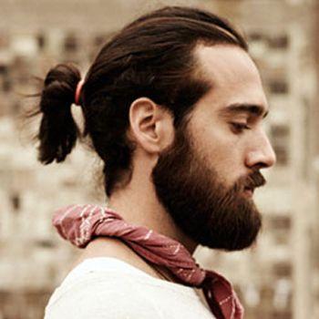 Cortes de cabello de hombre con cola
