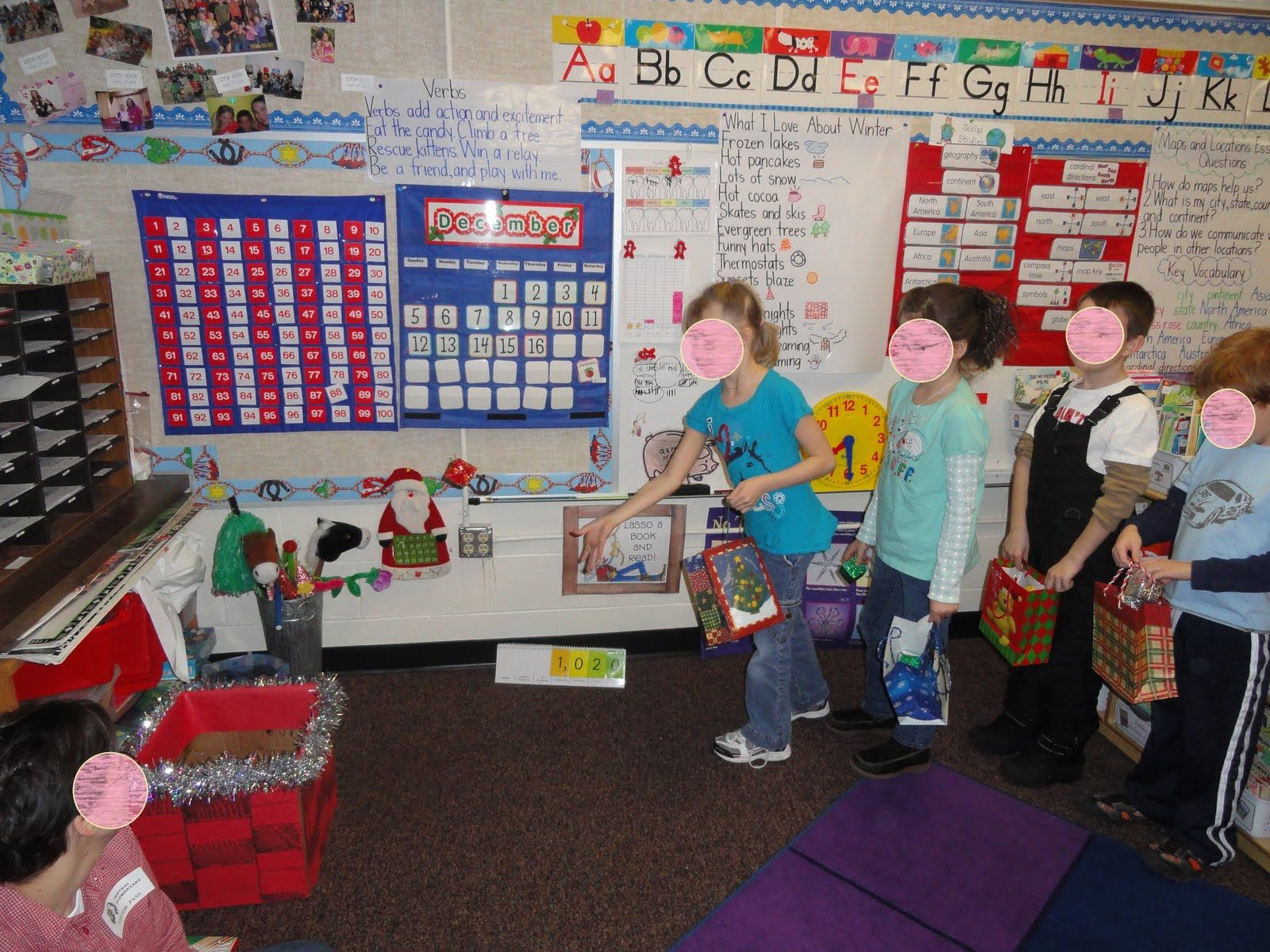 Marvelous Kindergarten Christmas Party Ideas Part - 12: *Bunting, Books, And Bright Ideas*: Christmas Party Ideas