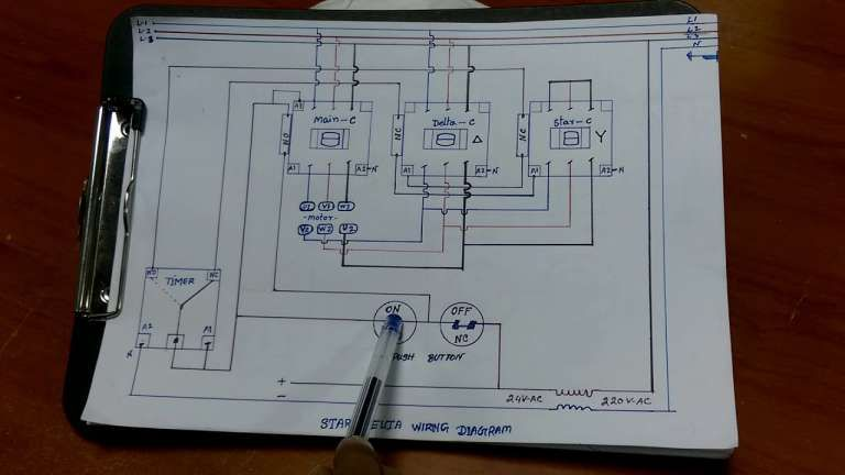 10 Electric Motor Star Delta Wiring Diagram Wiring Diagram Wiringg Net In 2020 Electrical Circuit Diagram Electric Motor Shipping Container Design