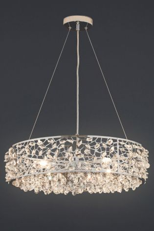 Shop For Ritz 4 Light Beaded Pendant At Next Ireland International Shipping And Returns Available