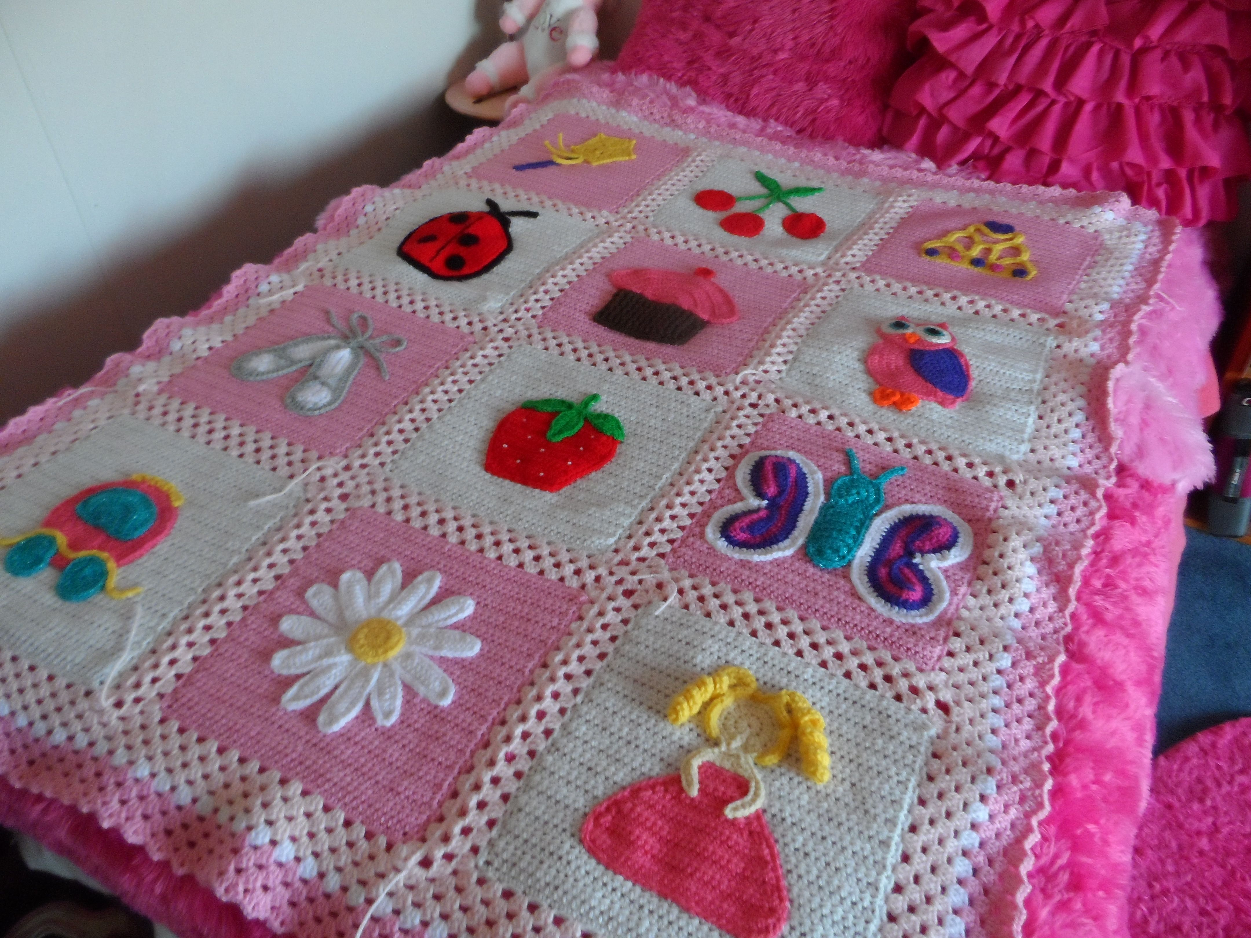 Little Blossom Blanket pattern by Knot Your Nana's Crochet