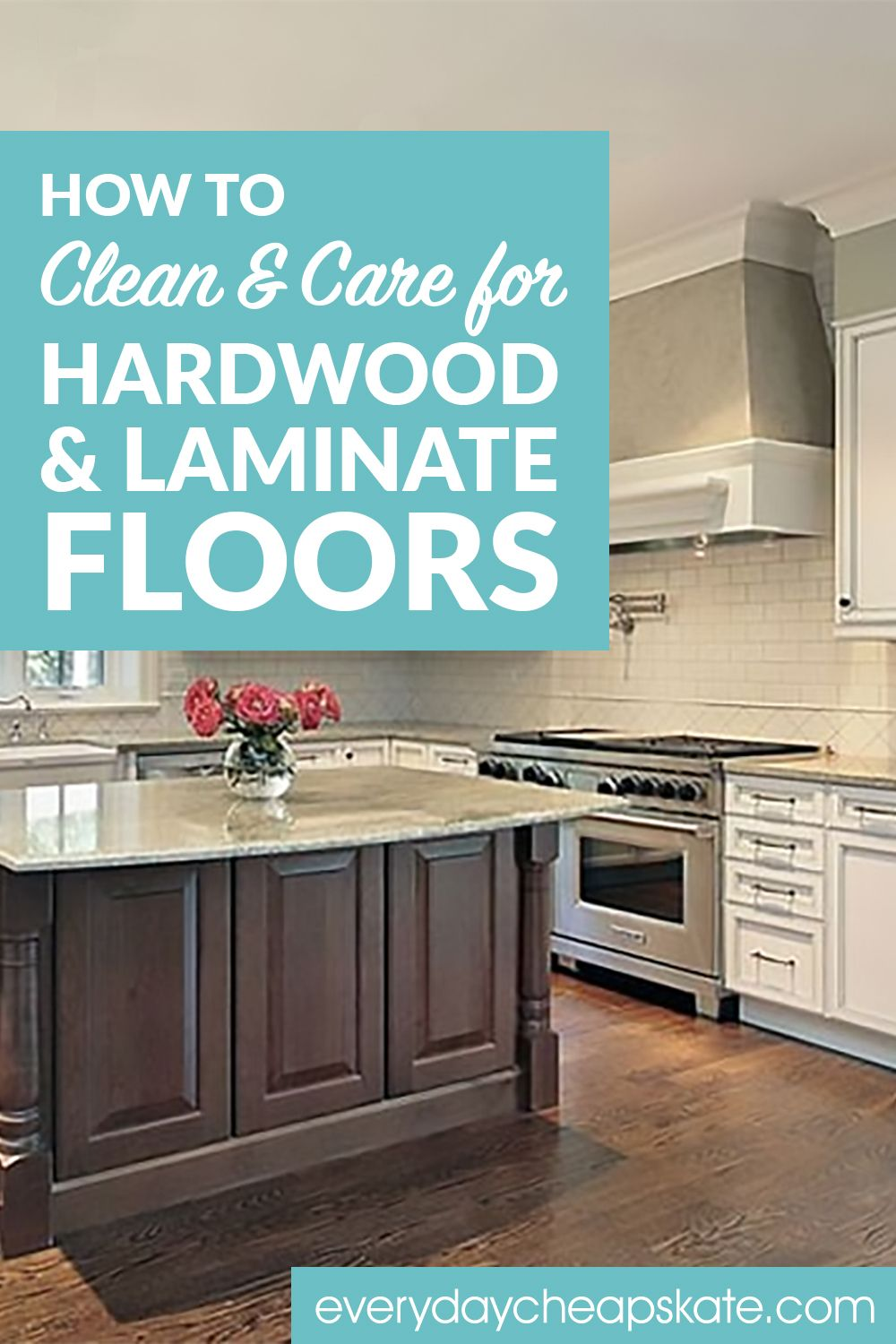 How to Clean and Care for Hardwood and Laminate Floors