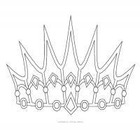 Printable Princess Crown