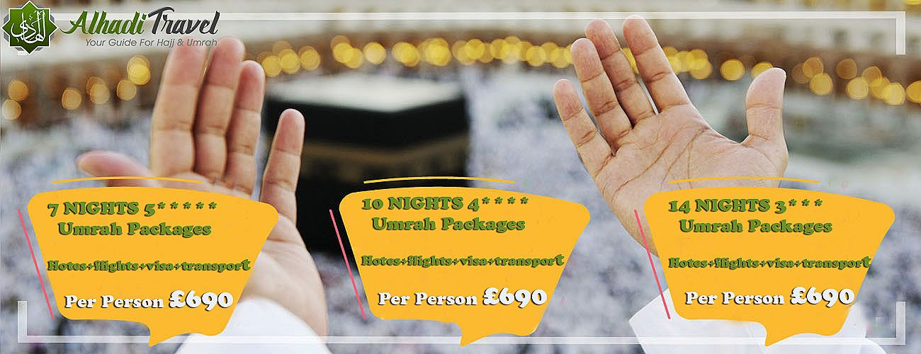 UK Umrah Packages 2020 - Starting From £ 550 - Book Now ...
