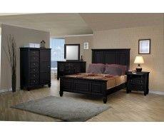 Sandy Beach Panel Bedroom Set by Coaster