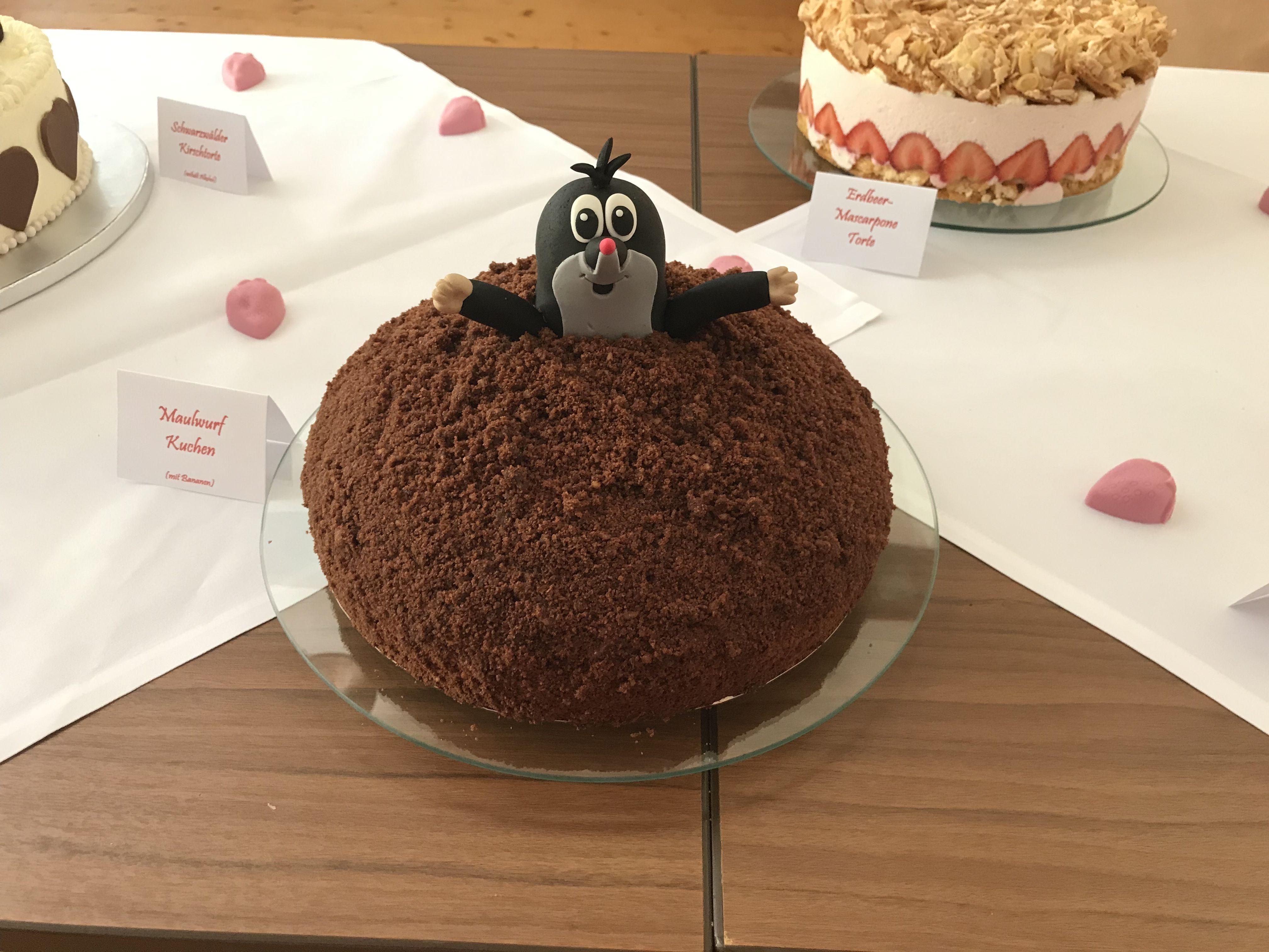 Pin Von Kerstin Nittel Auf Torten Kuchen Torten Maulwurf