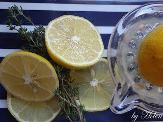Citrónovo-tymiánová limonáda