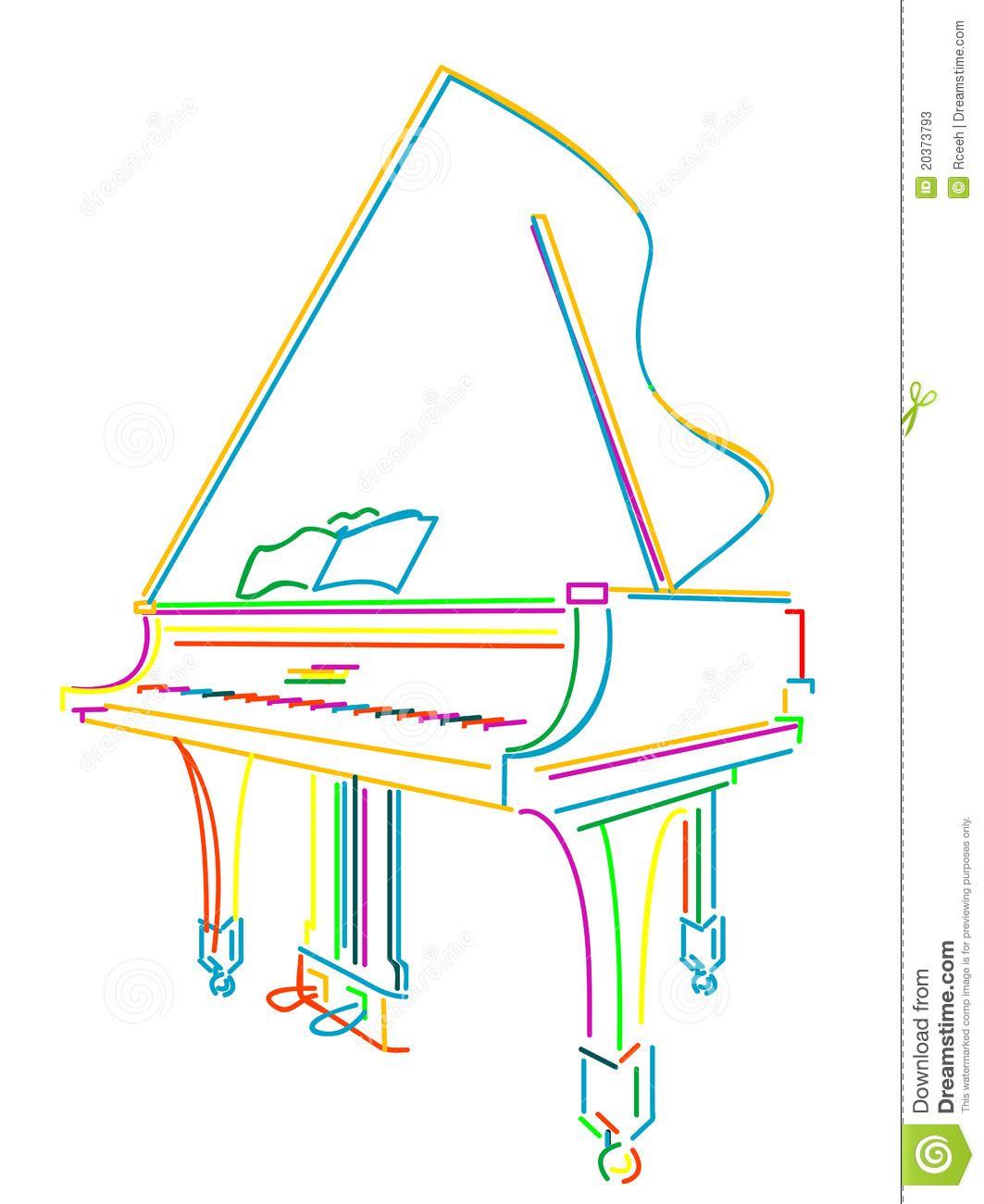 Grand Piano Over White 20373793 Jpg 1063 1300 Baby Grand Pianos Piano Baby Colors