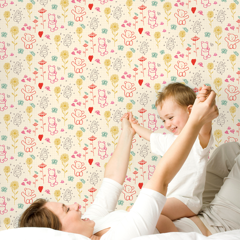 Removable Wallpaper Fun Wall Wallpaper Kids Wallpaper Removable Wallpaper