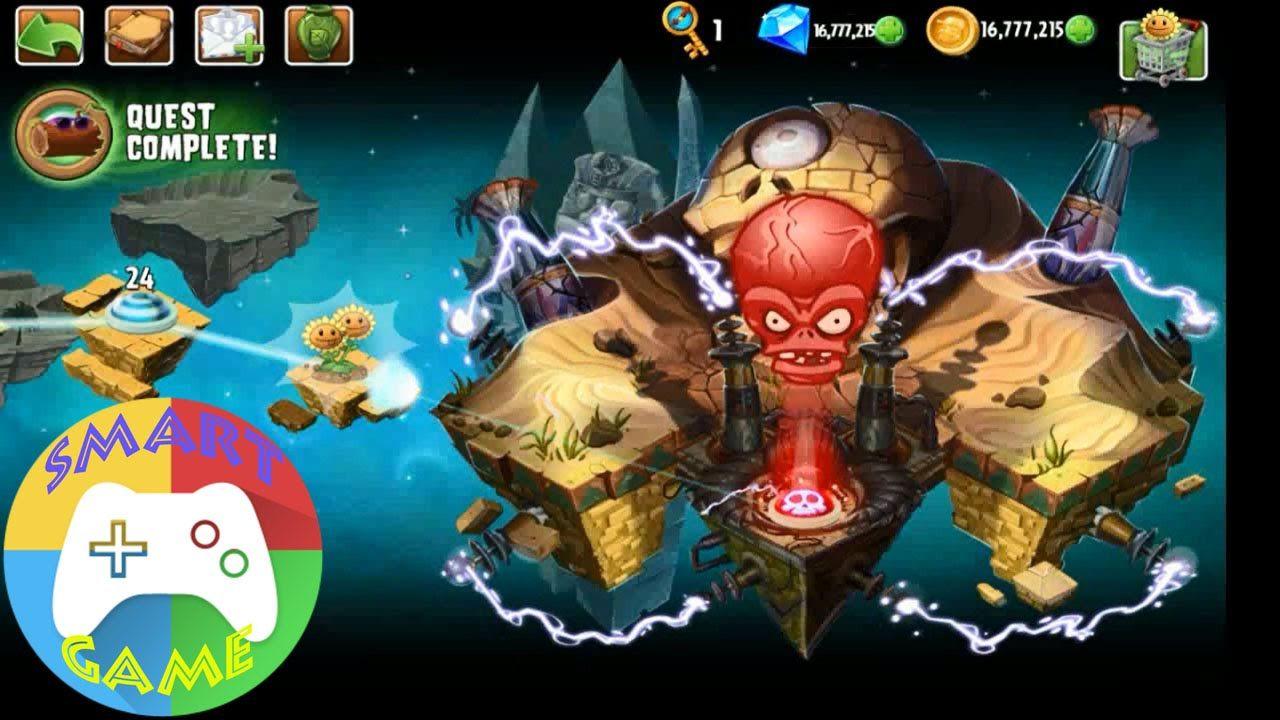 Plants vs Zombies 2: Ancient Egypt 24 & 25 - PVZ2 (Smart Game)