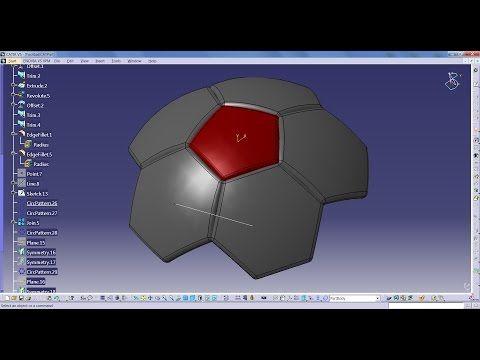 catia v5 tutorial advanced catia pinterest football football and sports. Black Bedroom Furniture Sets. Home Design Ideas