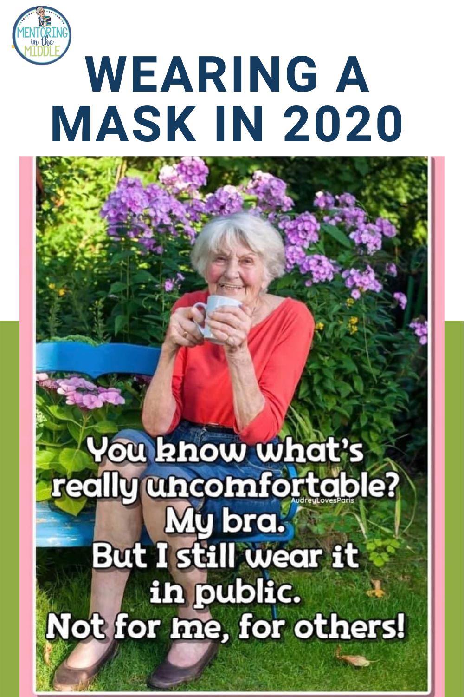 Memes About Wearing Masks High School English Lessons Middle School English Classroom English Teacher High School