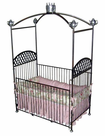 Tea Party Canopy Crib