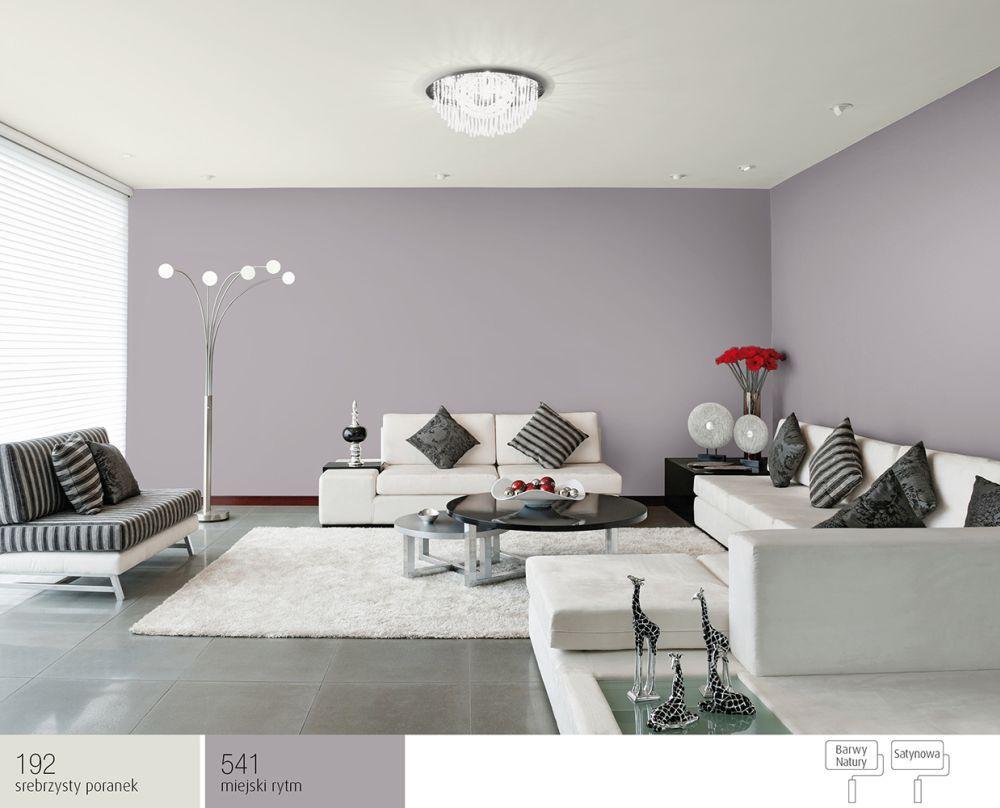 Kolor miejski rytm w salonie  Salon  inspiracje  Pinterest -> Kolor Kuchni Do Jasnych Mebli