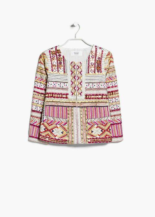 Wishlist Jackets Veste ❤ Pinterest Ethnique Mango Fashion w0qPFS0