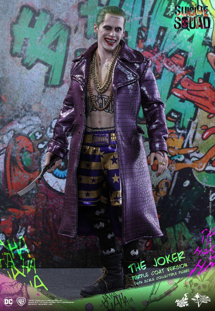 CUSTOM 1//6 scale Joker Head Sculpt Jared Leto Suicide Squad Batman for Hot Toys
