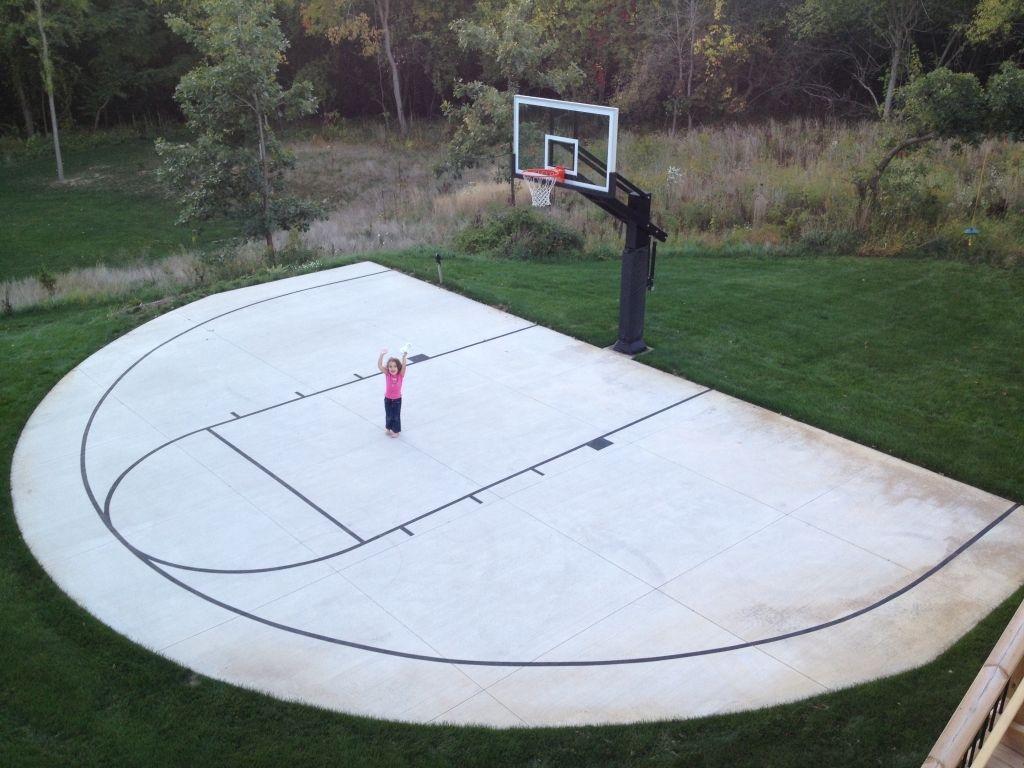 Genial Backyard Basketball Court Tiles