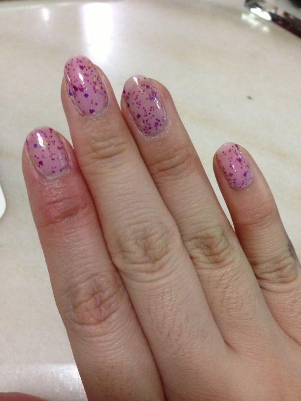 eggshell nail polish nails