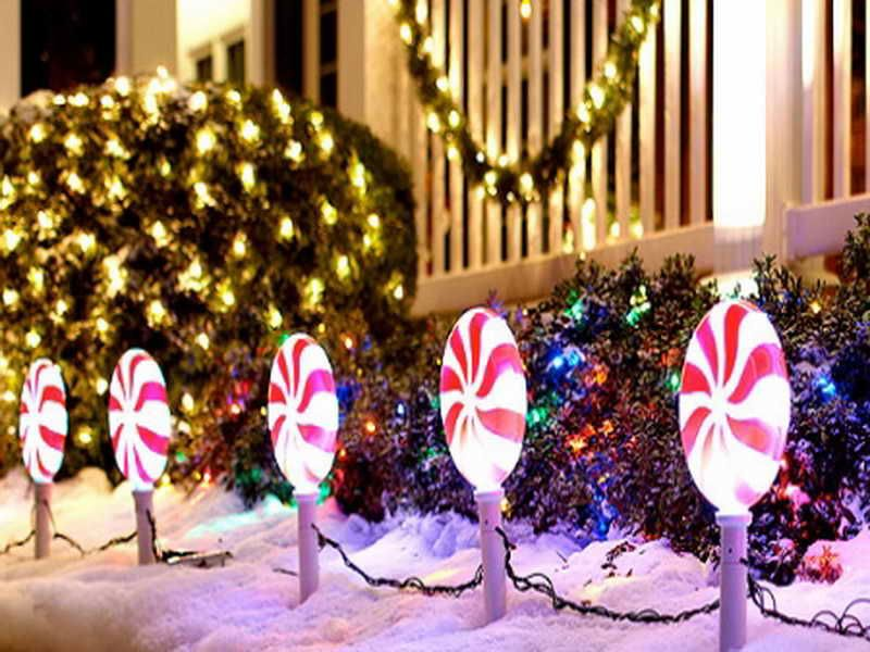 10 Most Inspiring Outdoor Decoration Ideas Outdoor christmas
