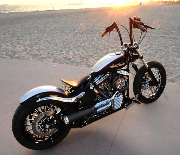 harvey oh harvey bikes bobber chopper cafe. Black Bedroom Furniture Sets. Home Design Ideas