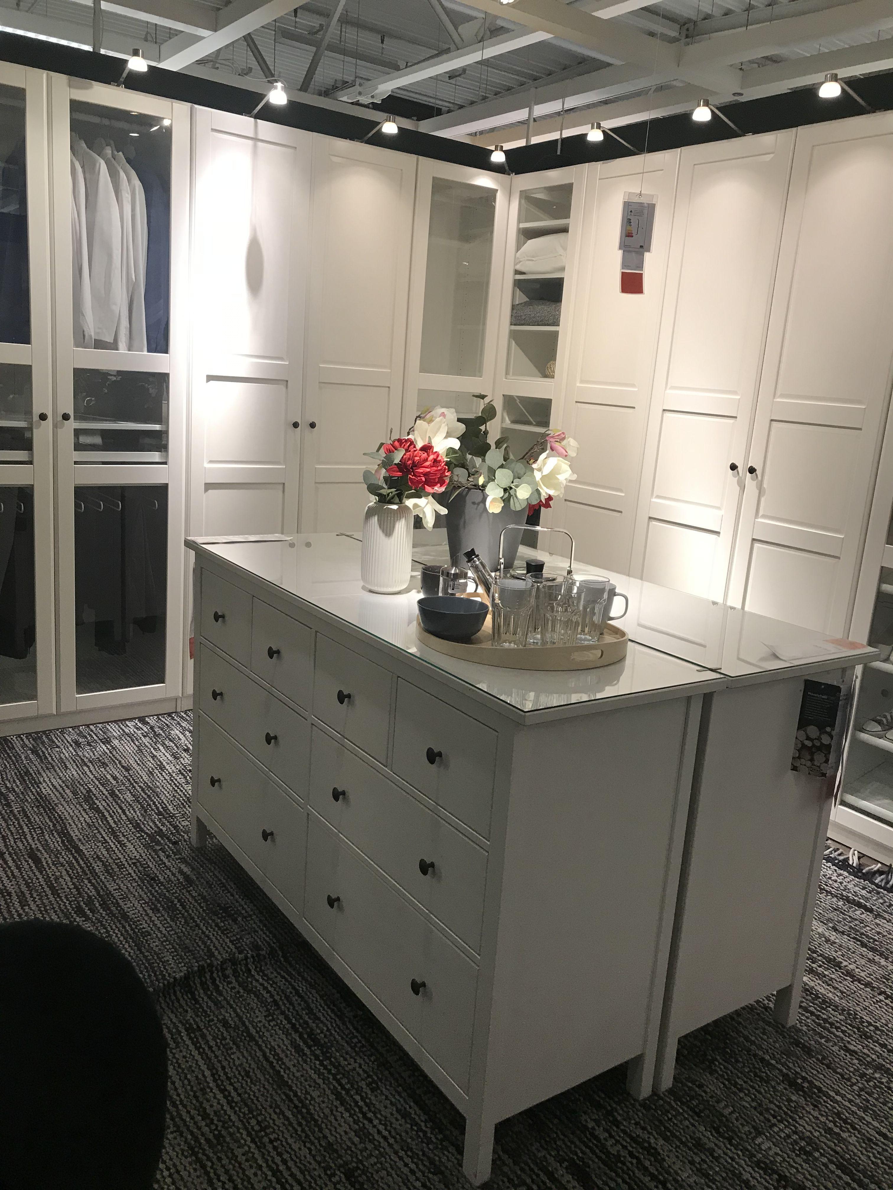 Pax Kleiderschrank Ideen Mit Malm Kommoden In Der In 2020 Home Interior Design Interior Home Decor