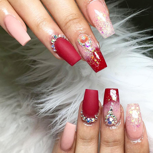 28 Oddly Satisfying Valentines Day Nails for 2020