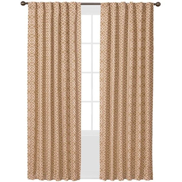 lovely Waverly Lovely Lattice Curtain Part - 10: Waverly Lovely Lattice Curtain Panel (326.245 IDR) ❤ liked on Polyvore  featuring home,