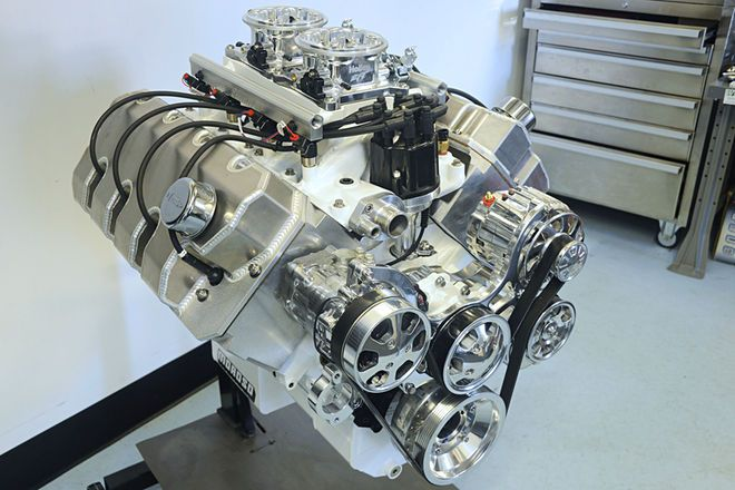 Giant American Made Hemi Heads For Your Small Block Ford Hot