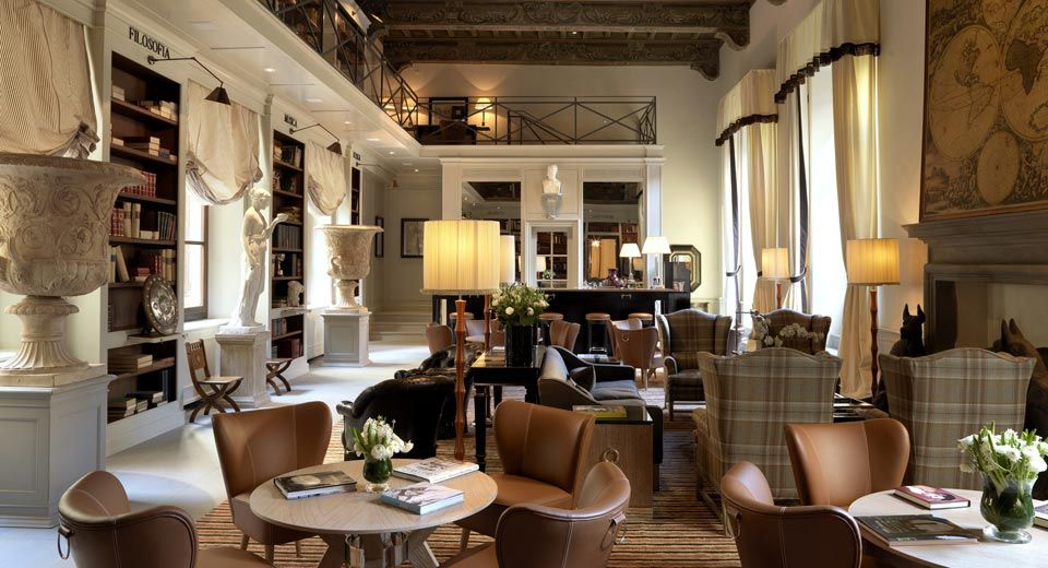 Palazzo tornabuoni florence designed by michele bonan for Design hotel firenze