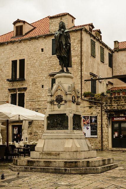 Ivan Gundulic Croatia Travel Dubrovnik Croatia Europe Travel Places