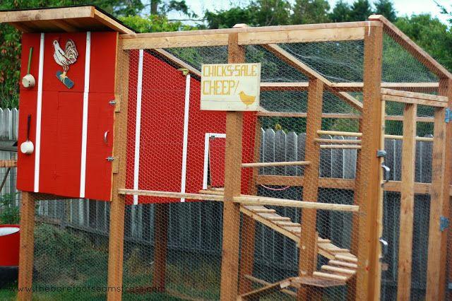 Build A Chicken Coop Cheap How To Build Chicken Run Chicken Coop
