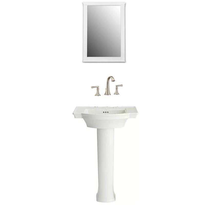 American Standard Estate Powder Room 2 Widespread Bathroom
