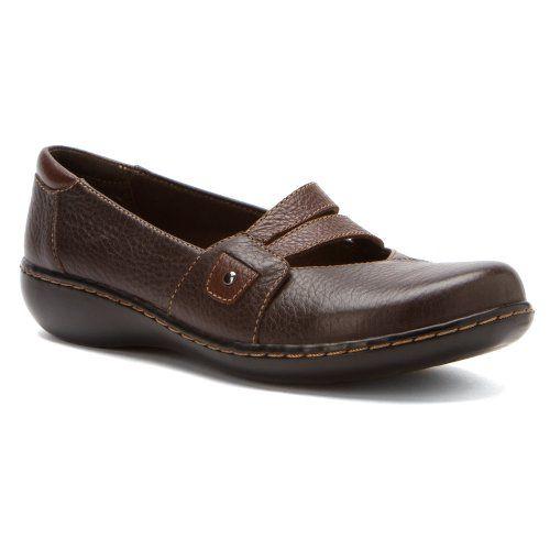 #Clarks Women's Ashland Twist Brown Leather 9 W US $68.50