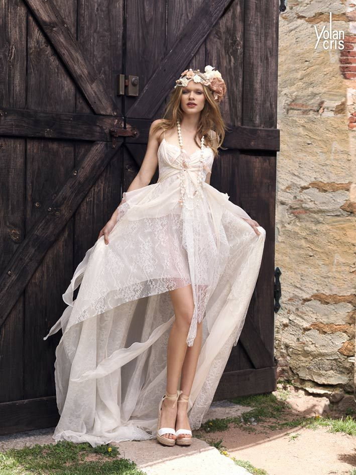 vestidos de novia hippie chic de ensueño | novias | pinterest