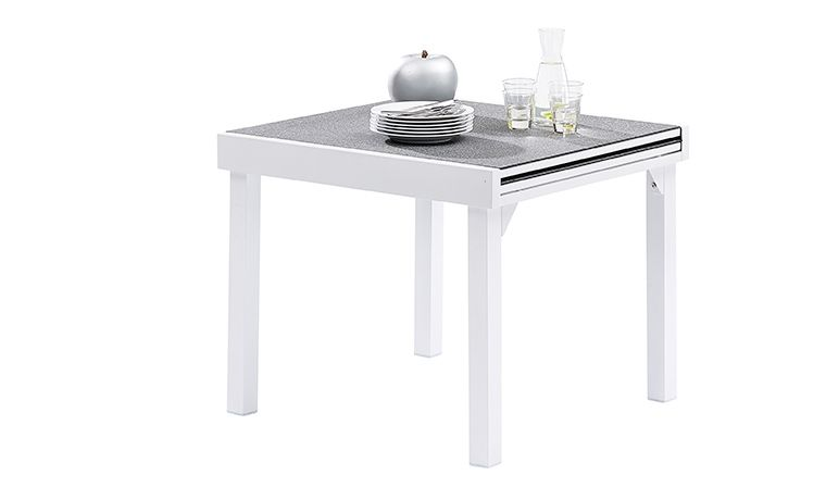 emejing table de jardin avec rallonge integree pictures ...