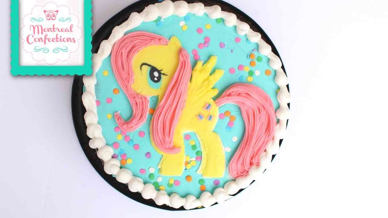 How To Make A Fluttershy Cake My Little Pony Cake My Little