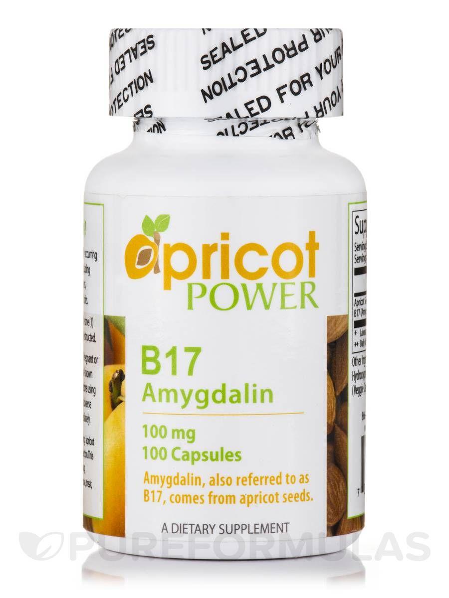 B17 amygdalin 100 mg 100 capsules amygdalin apricot