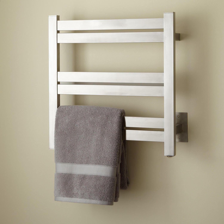 Bathroom towel heater - 20 Brenton Hardwired Towel Warmer