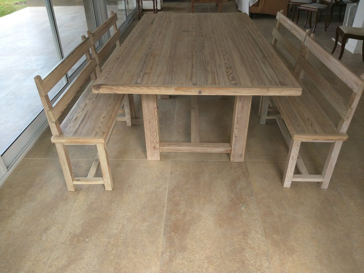 Meson de campo en pinotea en mercadolibre for Meson madera otivar