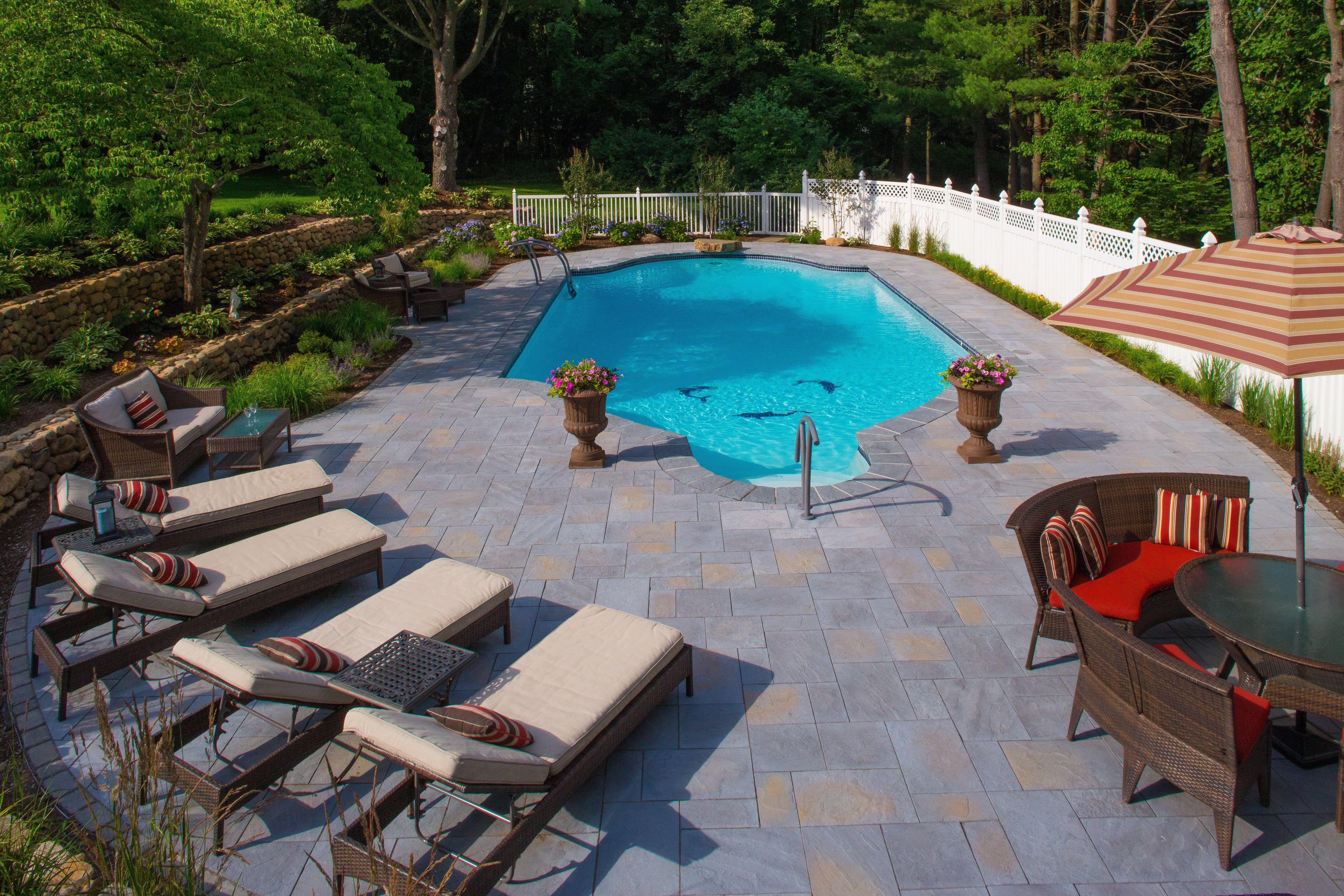 Full Pool Hardscape   Poolscape