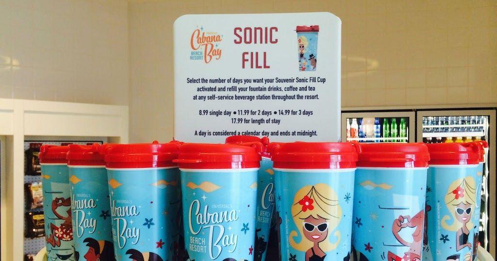 dc91320f71594 Copo com refil de bebidas nos parques Universal Studios em Orlando  viagem   miami