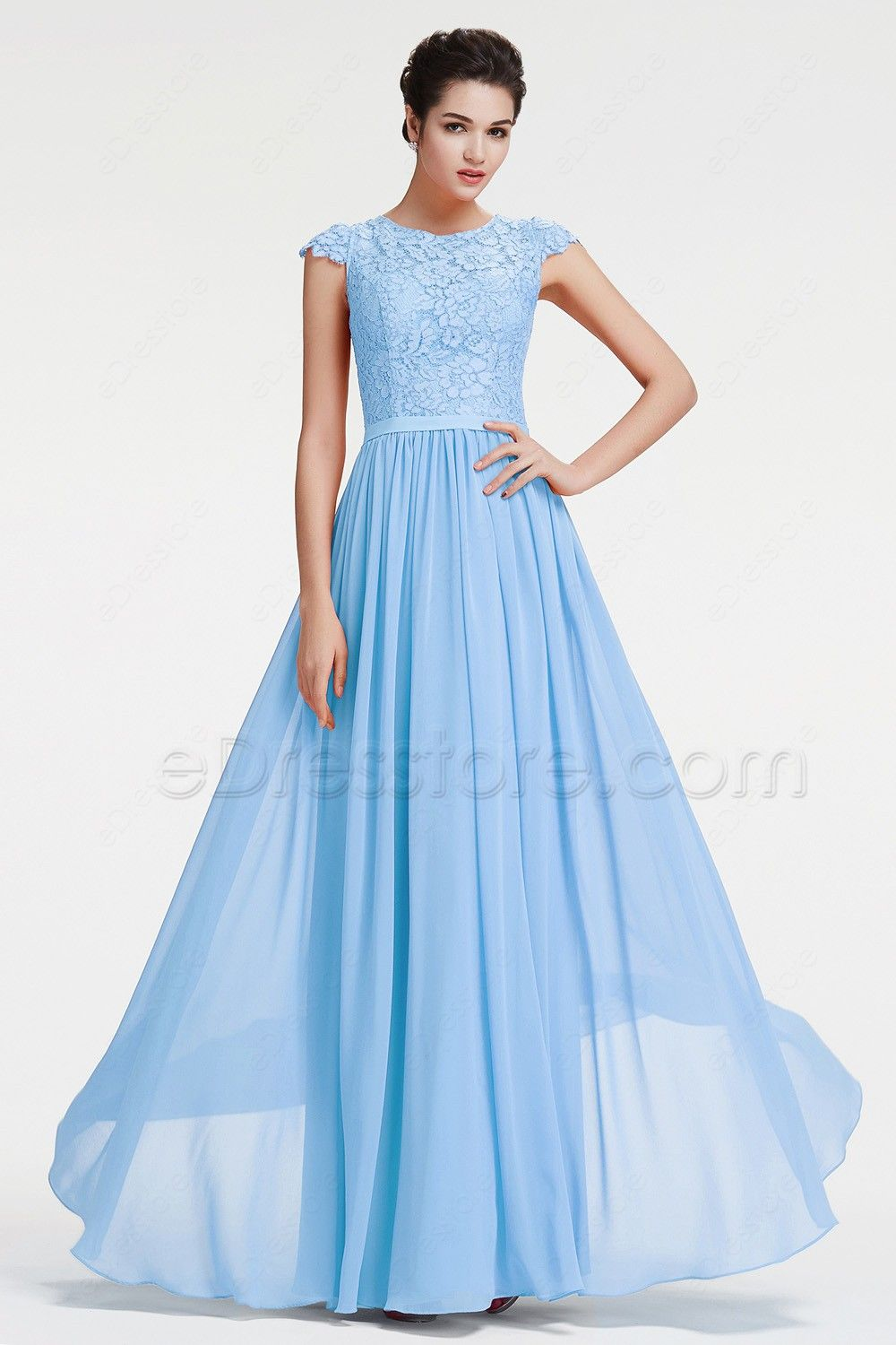 Modest Ice Blue Lace Prom Dress With Cap Sleeves Grey Bridesmaid Dresses Burnt Orange Bridesmaid Dresses Orange Bridesmaid Dresses [ 1500 x 1000 Pixel ]