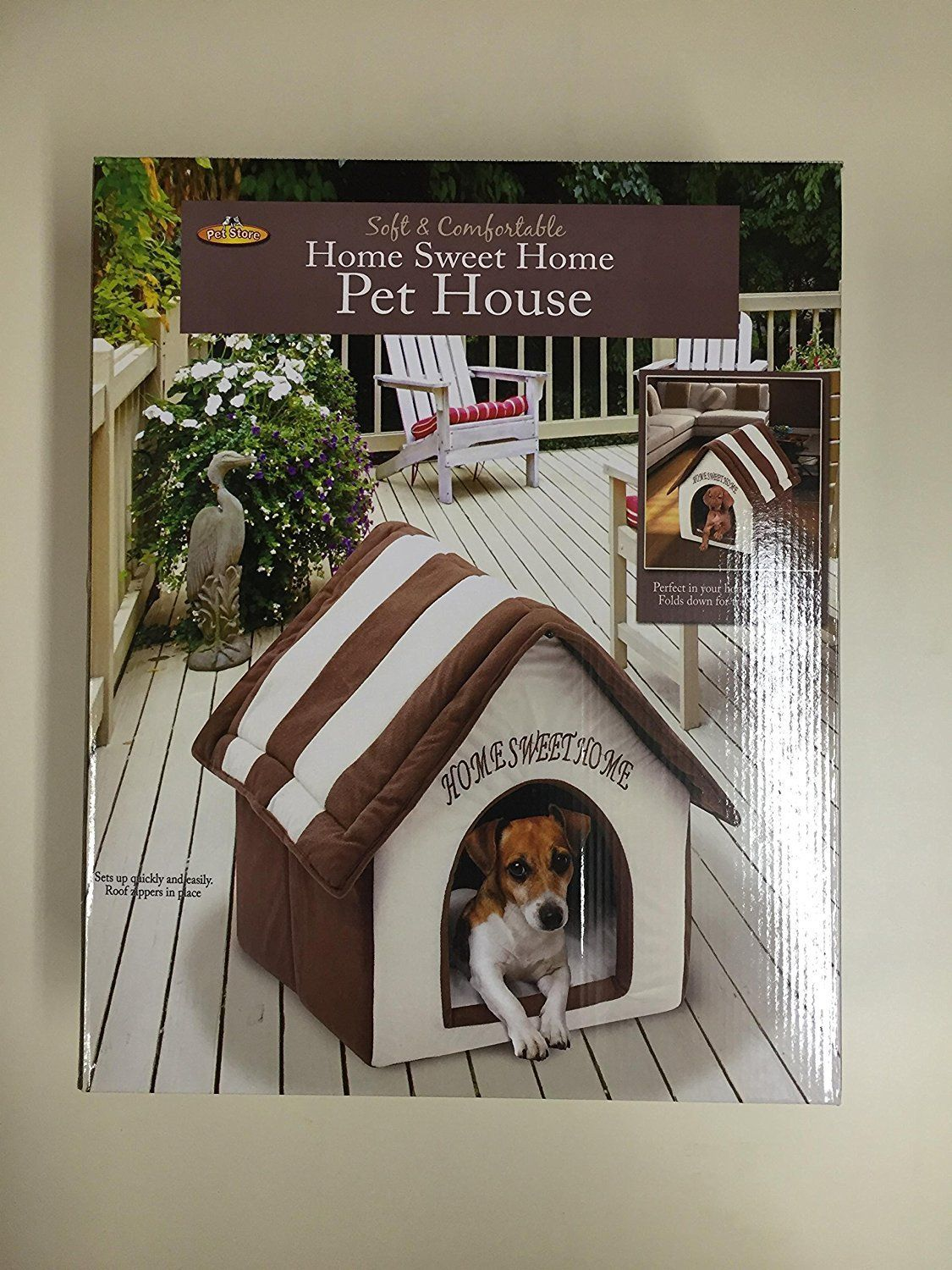 Home Sweet Home Pet House To View Further For This Item Visit The Image Link This Is An Affiliate Link And I Receive A Com Pet Bed Animal House Dog Gate