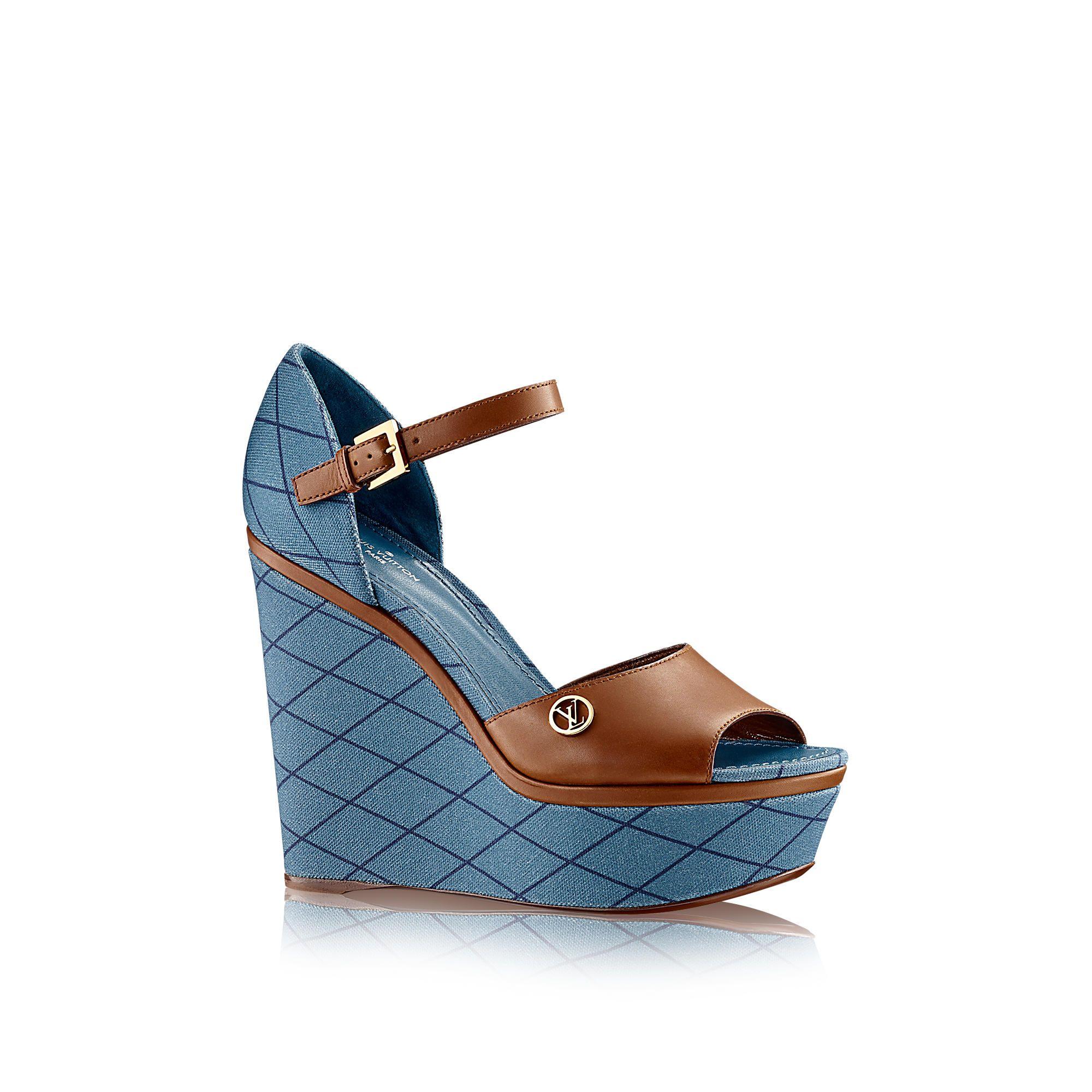 1d38adf6bc91 Discover Louis Vuitton Blossom Sandal via Louis Vuitton