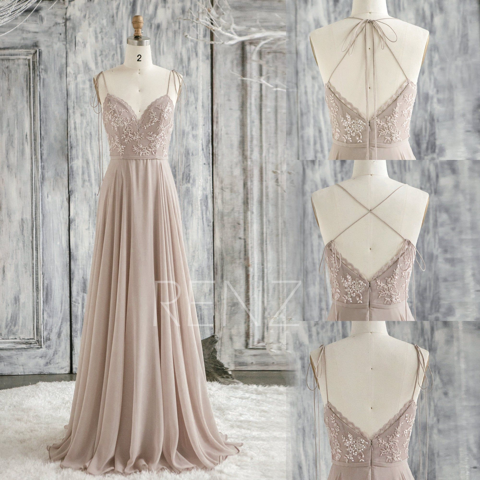 Infinity Bridesmaid Dress Brown Gray Prom Dress Long Convertible Straps Chiffon Party Dress Sweetheart A L Grey Prom Dress Long Grey Prom Dress Bridesmaid Gown [ 2000 x 2000 Pixel ]